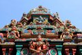 Hindu Temple in Bangkok Royalty Free Stock Photo