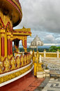 Hindu temple in bangladesh banderban district Stock Images