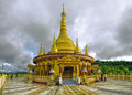 Hindu temple in bangladesh buddhist banderban district Royalty Free Stock Images