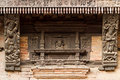 Hindu temple carved details Royalty Free Stock Photo