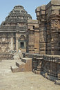 Hindu Temple at Konark, Orissa, India Stock Images