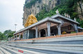 Hindu temple located at Batu Caves in Kuala Lumpur, Malaysia Royalty Free Stock Photo