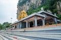 Hindu temple located at Batu Caves in Kuala Lumpur, Malaysia Royalty Free Stock Photo