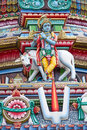 Hindu temple in Singapore Stock Photography