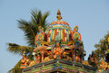 Hindu temple, south India, Kerala Stock Photo