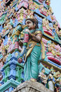Hindu Temple of Sri Layan Sithi Vinayagar Royalty Free Stock Photo