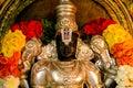 Hindu temple Statue Vishnu