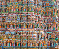 Hindu temple tower Royalty Free Stock Photos