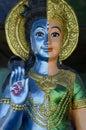 Hinduisk staty Royaltyfria Foton