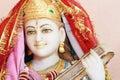 Hinduisk staty för gud Arkivbilder