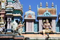 Hinduism Temple In Penang Royalty Free Stock Photo