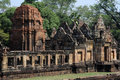 Hinduska świątynia prasat muang tama na tajlandia Obrazy Royalty Free