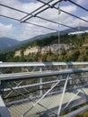Hinged bridge Royalty Free Stock Photo
