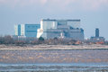 Hinkley Point Nuclear Power Station Somerset, UK Royalty Free Stock Photo