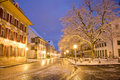 Hintere Hauptgasse Zofingen Royalty Free Stock Photo