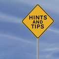 Hints And Tips Royalty Free Stock Photo