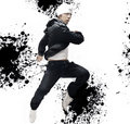 Hip-hop dancer Stock Photos