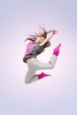 Hip-hop dancer girl Stock Photography