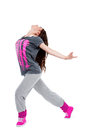 Hip-hop dancer girl Royalty Free Stock Images