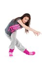 Hip-hop dancer girl Royalty Free Stock Photo