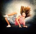 Hip-Hop Dancing Girl