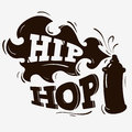Hip Hop Label Design With A Spray Balloon Silhouette
