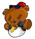 Hip Hop Urban City Teddy Bear