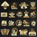 Hiphop Rock Emblem Set