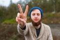 Hippie Peace Sign