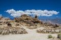 Hippo Rock at Alabama Hills, Sierra Nevada Royalty Free Stock Photo