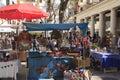 Hippy market of Ibiza Royalty Free Stock Photo