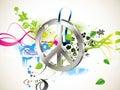 Hippy, symbol Zdjęcia Stock