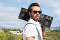 Hipster guy Royalty Free Stock Photo