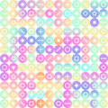 Hipster modern background with colorful circles