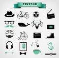 Hipster Style Elements, Icon A...