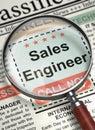 We are Hiring Sales Engineer. 3D.