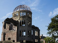 Hiroshima atomic bomb dome memorial peace in the epicenter Stock Photo