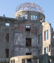 Hiroshima atomic dome of japan in summer august Stock Photo