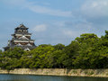 Hiroshima castle traditional japanese in japan Stock Photo