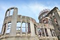 Hiroshima city in chugoku region of japan honshu island famous atomic bomb dome Stock Photo