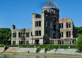 Hiroshima japan atomic dome Stock Photography