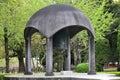 Hiroshima peace bell Royalty Free Stock Photo