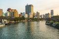 Hirošima a rieka v japonsko