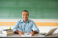 Hispanic Male Teacher Royalty Free Stock Photo