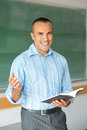 Hispanic Male Teacher Royalty Free Stock Photos