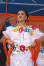Hispanic New Mexico dancer Royalty Free Stock Photos