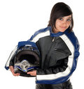 Hispanic Teen Racer Royalty Free Stock Photo
