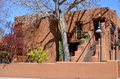 Historic adobe house santa fe nm usa april on april in santa fe nm today many of santa fe year old structures still stand and they Stock Images
