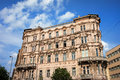 Historic Apartment House in Budapest Stock Image