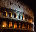 The historic arena Colosseo in Rome Stock Photo